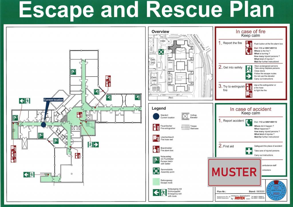 Fluchtwegplan & Rettungsplan